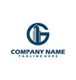 g logo g logo design initial g logo circle g vector image vector image