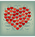 Heart Background 2 vector image vector image