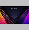 modern colorful futuristic background design vector image vector image