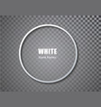 white circle blank picture frames empty frame vector image