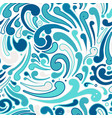 abstract swirl seamless pattern for your design vector image vector image