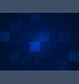 blue terrain vector image
