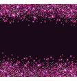 Glitter star background vector image vector image