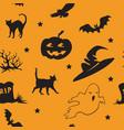 Halloween seamless pattern 3