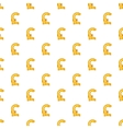 Italian lira currency symbol pattern cartoon style vector image