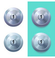 picture lock vector image vector image