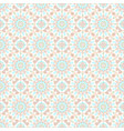 seamless mandala pattern vintage elements in vector image