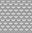 seamless scandinavian pattern with simple stylized vector image vector image