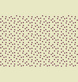 beige coffee color randomly dots seamless pattern vector image