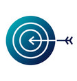 business target arrow strategy symbol vector image