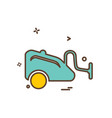 cleaner icon design vector image vector image