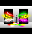 Effect spray paint vector image vector image