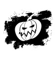 Flag Halloween grunge style on white background vector image vector image