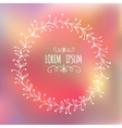 graphic frames for text vector image vector image