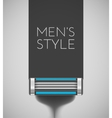Mens style vector image vector image