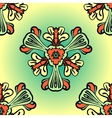Seamless background made of stylized flowers vector image vector image
