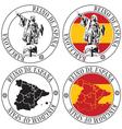 Spanish Stamp vector image