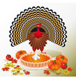 thanksgiving day design for the decoration vector image