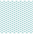 tile mint green and white pattern vector image vector image