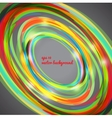 Abstract techno circle background vector image vector image