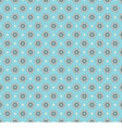 Blue White Seamless Pattern Oriental Style vector image vector image