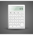 calculator vector image vector image