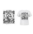 cardinal bird t-shirt print mockup sport team sign vector image