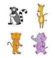 File EPS10 Hand-drawn cartoon wild icon vector image vector image