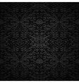 Black pattern vector image vector image