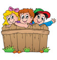children theme image 1 vector image vector image