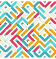 light seamless pattern traditional vector image vector image