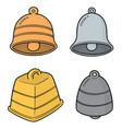 set bells vector image