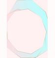 trendy minimal chic gold geometric gradient vector image vector image
