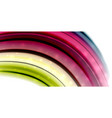 abstract flowing motion wave liquid colors mixing vector image