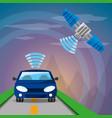 autonomous car design vector image