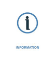 information icon monochrome style design from vector image