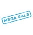 Mega Sale Rubber Stamp vector image vector image