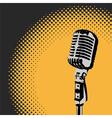 Retro Microphone Spotlight 2