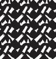 Seamless monochrome pattern with chess figures vector image