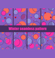 set of seamless patterns in memphis style with vector image