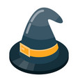 witch hat icon isometric style vector image vector image