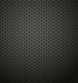 Dark brick wall background vector image vector image