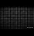 pattern of metal grid techno background vector image vector image
