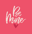 romantic handdrawn lettering vector image vector image