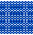 Seamless pattern of small hexagons vector image vector image
