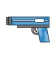 video game gun icon vector image