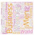 women entrepreneur 1 text background wordcloud vector image vector image