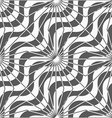 Shades of gray diagonal waves with rays vector image