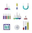 chemistry labware vector image