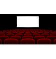 Cinema hall vector image vector image